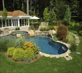 Backyard Pool Landscaping Ideas Backyard Landscaping Ideas With Pool Home Design Ideas