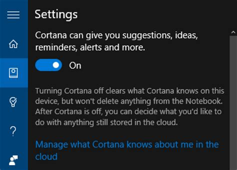 how to manage cortana settings on the windows 10 fall 7 default windows 10 settings you should check immediately