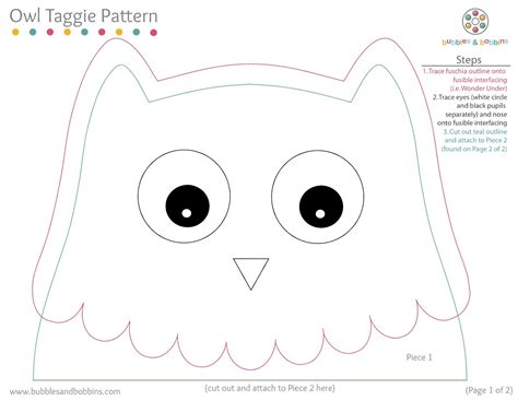 owl templates for sewing free printable owl pattern template wallpaper