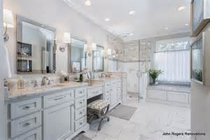 Master Bathroom White by A Classic White Master Bathroom Full Of Style And Function