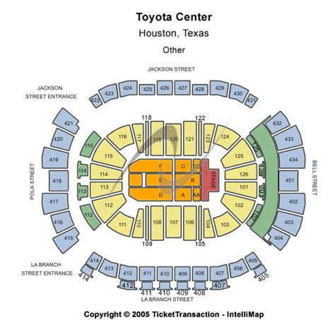 Toyota Center Ticket Office Tickets Seating Chart Toyota Center Other