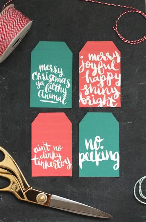 printable christmas gift tags unoriginal mom