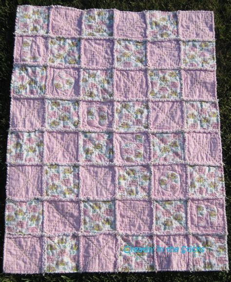 Flannel Baby Quilt creatin in the sticks how to make a flannel rag baby quilt