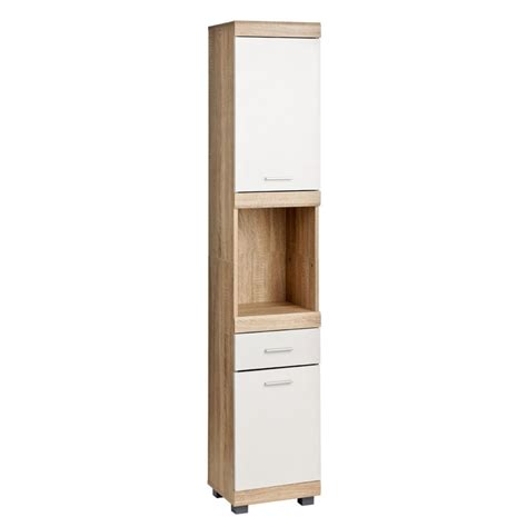 Oak Bathroom Cabinets Storage White Oak Veneer Bathroom Storage Cabinets Wall Floorstanding Sink Units