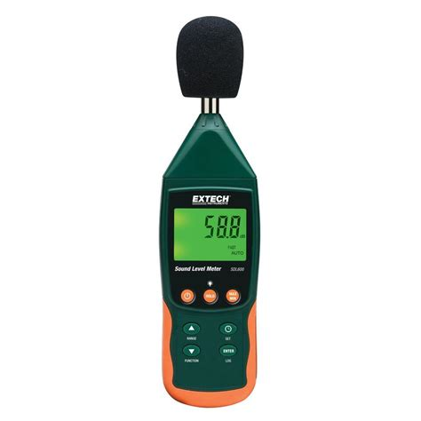 Sound Level Meter Extech Extech Instruments Data Logging Sound Level Meter With Sd