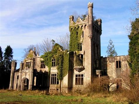 Haunted Donegal lough eske castle ruins donegal ireland photo by