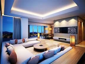 wohnzimmer decken ideen indirekte beleuchtung ideen wie sie dem raum licht und