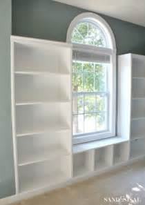 Built In Bookshelves With Window Seat Built In Bookshelves Plans Woodworking Projects Plans