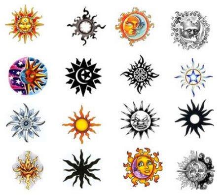 colorful sun tattoo designs colorful sun designs ideas