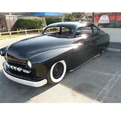 1950 Mercury Coupe Chopped Restored Air Ride For Sale