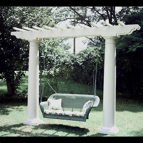 pergola swing set chadsworth columns shop columns com