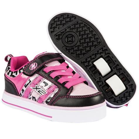 blackpink x2 heelys x2 bolt 2 0 black pink and cheetah heelys shoes
