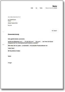 Zimmerreservierung Schreiben Muster Beliebte Downloads Dokumente Schweiz 187 Dokumente Vorlagen