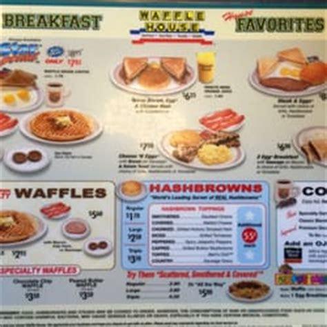 Waffle House Calories by Waffle House 11 Avis Petit D 233 Jeuner Brunch 5103