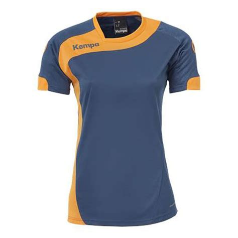 jersey design for handball kempa peak jersey women petrol orange