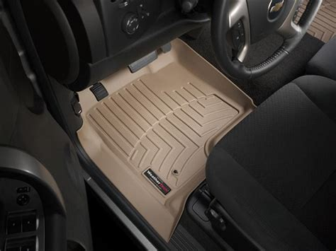 Weathertech Tan Floorliners 2007 2014 Gm 2500hd 3500hd