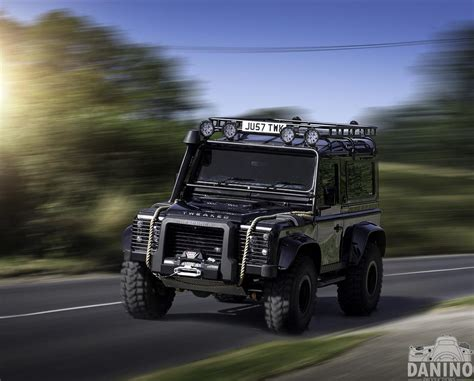 land rover spectre θηριώδες defender spectre edition από την tweaked