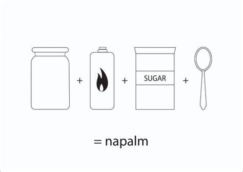 How To Make Giveaways - how to make napalm using simple household items at thomgid s moblog