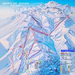 el colorado trail map great skiing options in chile lie to santiago