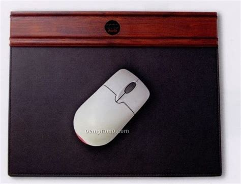 Smooth Mouse Pad Black Promo rosewood mouse pad china wholesale rosewood mouse pad
