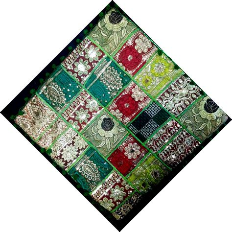 Patchwork Cover - cushion cover patchwork multicolour carolina trading