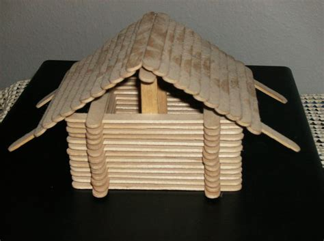 Popsicle Stick Cabin popsicle stick cabin by shasian99 on deviantart