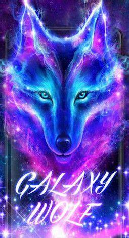 neon galaxy wolf wallpapers fresh hd wallpaper