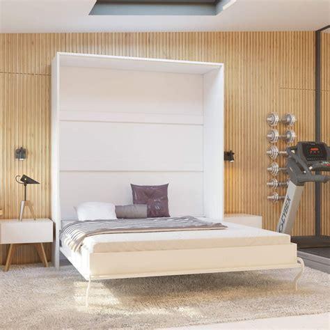 Wand Bett by Murphy Bed 160 Cm Vertical Smartbett Various Colours Wall