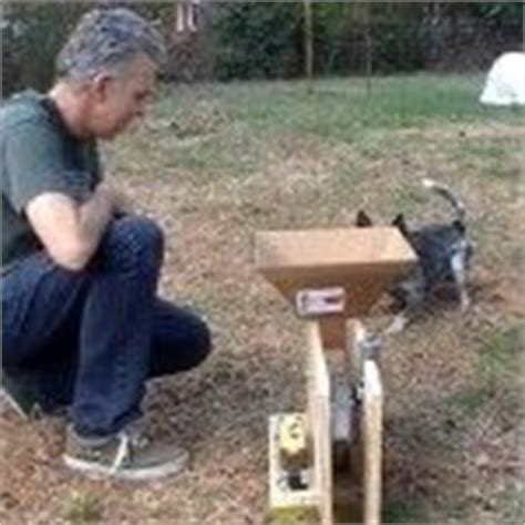 automatic thrower for dogs diy diy automatic thrower dogs diy and html