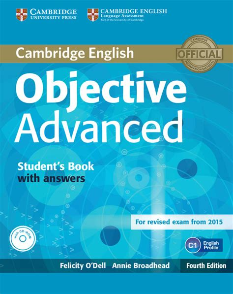 advanced updated for 4 books objective advanced 4th edition cambridge
