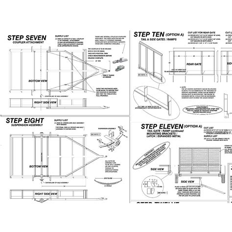 tilt bed utility trailer plans wiring diagrams wiring