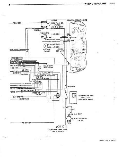 class a wiring 1978 dodge motorhome wiring diagram 35 wiring diagram