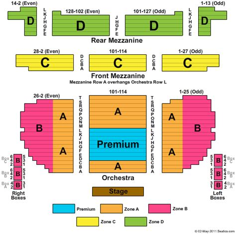 eugene oneill theatre seating views eugene oneill theatre seating chart