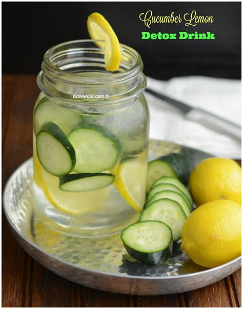 Lemon Cucumber Detox by Cucumber Lemon Detox Water Drink Isavea2z