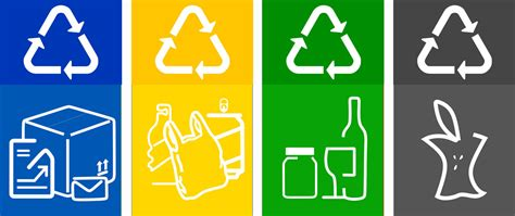 printable recycle label free recycling labels printable recycling bin labels