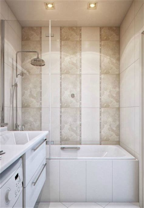 bathroom tile vertical stripe small bathroom design ideas