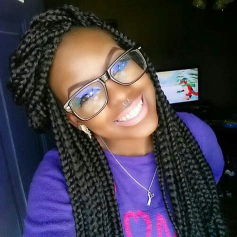large boxbriads 65 box braids hairstyles for black women