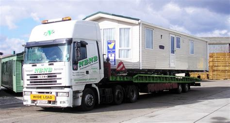 static caravan transport mobile home transport caravan