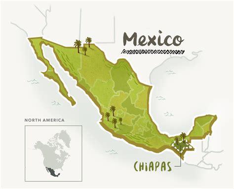 map of mexico chiapas starbucks 174 m 233 xico chiapas 1912 pike