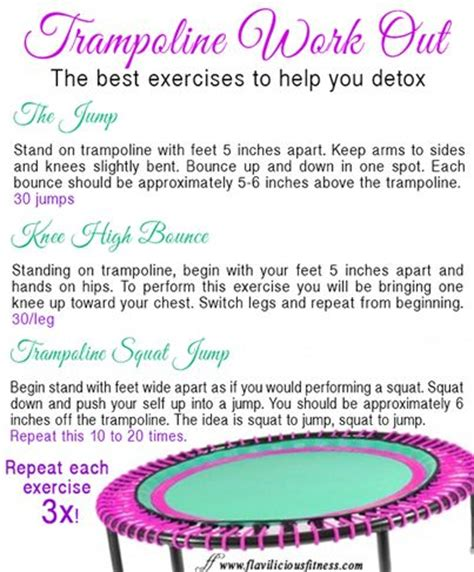 You Detox With Adriene by 25 Best Ideas About Rebounding On Rebounder