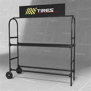 tire rack set 3d model formfonts 3d models textures
