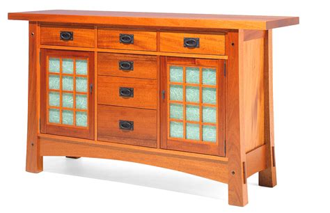 Arts And Crafts Sideboard shoji sideboard by berkeley mills