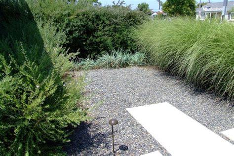 gravel courtyard