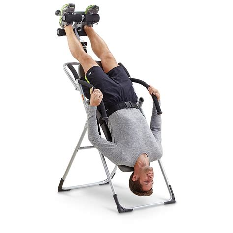 inversion therapy using chairs inversion chair 229446 inversion therapy at sportsman