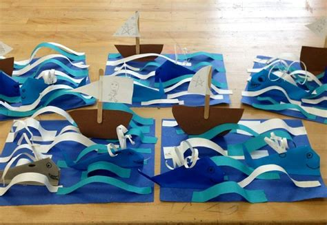 3d Origami Boat - origami whales with boat in 3d elementary