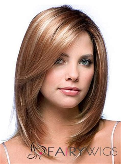 i need a hair cut for thin hair and fine hair over 50 chic full lace medium straight blonde indian remy hair wig