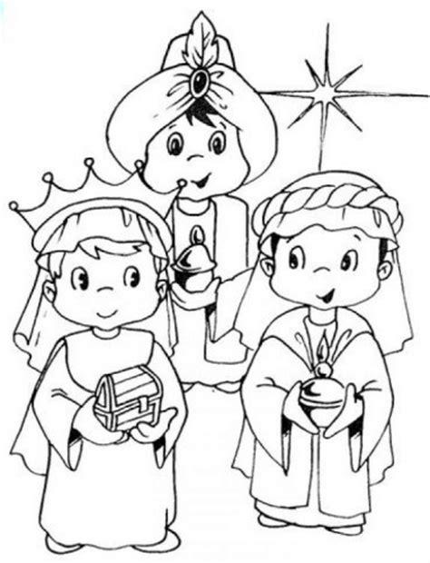 imagenes reyes magos para recortar 6 de enero d 237 a de reyes para imprimir y pintar frases