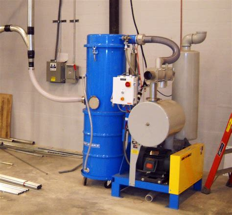 Vaccum Systems new vac u max 1040 combustible dust central vacuum system package meets revised nfpa 654