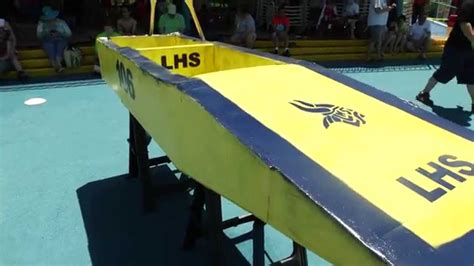 cardboard boat regatta arlington tx 2015 cardboard boat regatta youtube