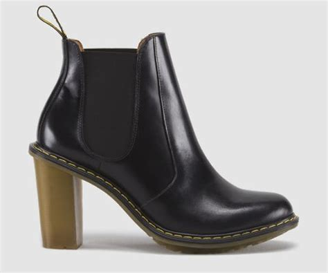doc martens high heeled chelsea boot dress you up in my